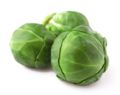 group of green brussel sprouts